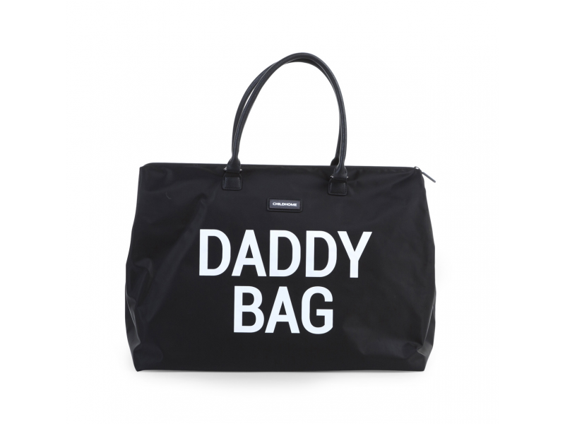 CHILDHOME TAŠKA DADDY BAG BIG BLACK